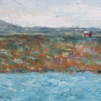 oil painting of the fundy marshes