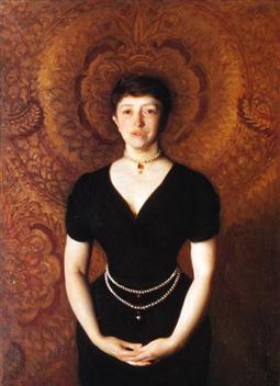 isabella-stewart-gardner portrait by John Singer Sargent