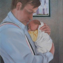 Father's Love (oil)